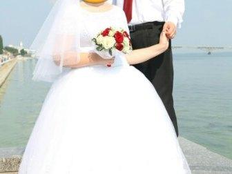 Новое фото  Свадебное платье белого цвета 39426823 в Саратове