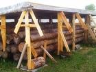 Свежее фото Строительные материалы зимний лес кругляк 39134276 в Серпухове