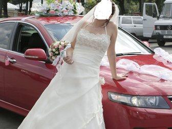 Уникальное фото Свадебные платья Продам свадебное платье цвета айвори 44-46 размер, подойдет беременным женщинам 33381173 в Серпухове