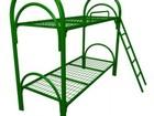 Просмотреть фото Мебель для спальни Широкий выбор металлических кроватей, одноярусные железные кровати 70123342 в Севастополь
