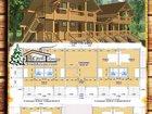 Фото в Строительство и ремонт Строительство домов Эскизный проект деревянного дома в Крыму в Симферополь 150