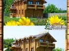 Уникальное фото Строительство домов Гостиницу деревянную в Крыму из сруба 35125226 в Симферополь