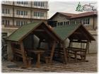 Уникальное изображение Строительные материалы Деревянные беседки из бруса в Крыму 66486515 в Симферополь