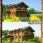 Гостиницу деревянную в Крыму из сруба