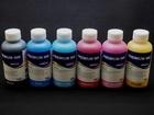 Просмотреть фото Принтеры, картриджи Комплект водорастворимых чернил для Epson (6x100мл) 71878276 в Смоленске