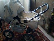 коляска трансформер продам коляску в хорошем состоянии, б/у 1год без поломок, на