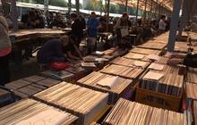 15000 фирменных виниловых пластинок из Швеции