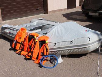 Свежее foto  Надувная моторная лодка Sun Marine SM 360 новая 33199119 в Смоленске