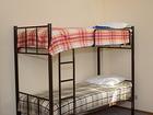 Скачать бесплатно фотографию Мебель для спальни Кровати двухъярусные, односпальные на металлокаркасе для хостелов, гостиниц, рабочих 68160365 в Сочи