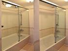 Просмотреть foto  Стеклянные складные шторки для ванной 70766328 в Сочи