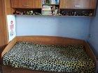 Кровать с полкой   матрас