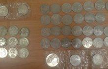 монеты в ассортименте