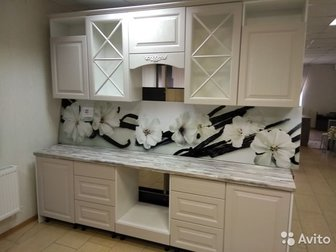 Кухня Мокко -Кантри 2,6мФасады МДФСтолешница Канадская Хижина 38ммХорошая фурнитураВысота верхних шкафов 890ммКухня универсальная ,можно на обе стороны поставить в Старом Осколе