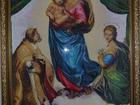 Скачать бесплатно фото  Сикстинская Мадонна счетная вышивка крестом 38680838 в Ипатово