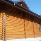 Деревянный дом, беседка и баня из зимнего сруба или клеенного бруса