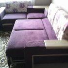 Мягкая мебель угловая,новая,фиолетового цвета