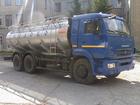 Фото в Авто Грузовые автомобили Молоковоз (водовоз) на шасси КАМАЗ 65115 в Сургуте 3800000