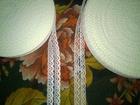 Увидеть фото Аксессуары Кружево капроновое шириной 2 см, Кружево двойное под разрез 69055626 в Таганроге