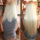 Капсульное наращивание волос на дому