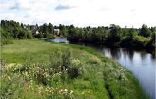 Земельный участок д. Жуково Талдомский район. Участок у реки и леса