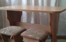 Стол и 2 табурета