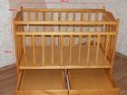 Скачать изображение Мебель для детей Детская кровать-качалка фабричного производства 63379266 в Тюмени