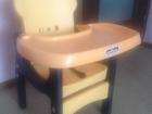 Просмотреть foto Детская мебель Продам стульчик трансформер для кормления Action 67812735 в Тюмени