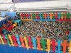Забор детский с ковролином