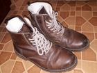Увидеть изображение  Продам зимние мужские ботинки коричневого цвета размер 42, Покупали в Терволине за 9000 рублей 72287384 в Тюмени