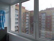 Квартира в районе Ашан Квартира с отличным ремонтом, на полу ламинат, встроенная