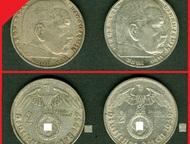 2 марки 1939-1937г Серебро Материал: Серебро 625  Диаметр: 25. 0 мм  Вес: 8. 0 г