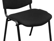 Стулья ИЗО продам в Тюмени новые офисные стулья ИЗО. Каркас чёрный. Обивка ткань