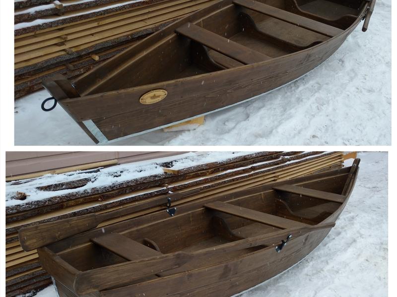 Изготовление деревянных лодок в тюмени