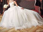 Фото в Одежда и обувь, аксессуары Свадебные платья Продается шикарное свадебное платье, цвет в Тольятти 15000