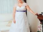 Фото в Одежда и обувь, аксессуары Свадебные платья продам свадебное платье белого цвета, сзади в Тольятти 8000