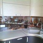 стеклянные фартуки на кухню скинали