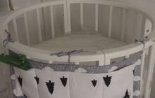 Бортики в круглую кроватку