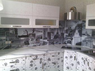 Просмотреть фотографию Кухонная мебель стеклянные фартуки на кухню скинали 33561901 в Тольятти