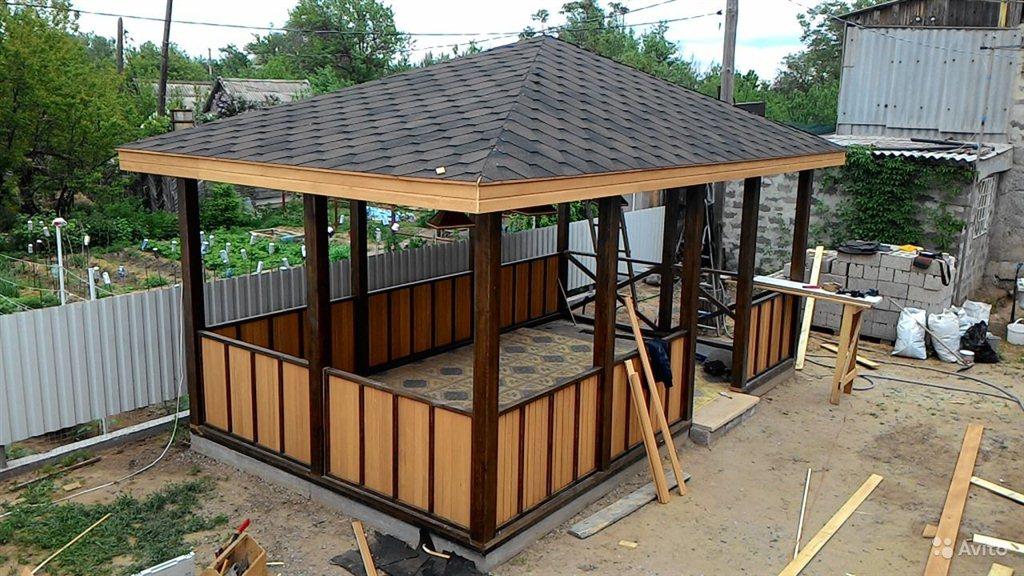 Услуги по строительству домика для барбекю барбекю загородного дома
