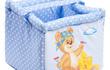 Чудесная мягкая корзина для игрушек – незаменимая