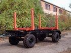 Скачать бесплатно foto  Прицепы-сортиментовозы 2-х осные до 18 240 кг, до 30 кубов 33566856 в Томске