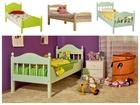 Смотреть изображение Детская мебель Детская кровать из массива сосны 59356639 в Томске