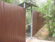 Ворота и калитки садовые Ворота/калитки садовые есть каркасного типа 4250/1830 р