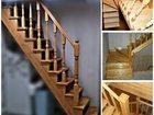Новое фото Двери, окна, балконы Лестницы из дерева по индивидуальным проектам 31832992 в Туле