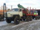 Скачать изображение Грузовые автомобили Урал 43204 Лесовоз с манипулятором Атлант-С 90 32986758 в Туле