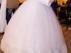 Изображение в   Красивое свадебное платье белого цвета, одевалось в Туле 10000