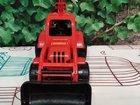 Игрушка машинка трактор экскаватор