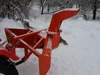 Скачать foto Снегоуборочная техника Шнекоротор задненавесной V-образный Уралец 1,4м 35395338 в Твери