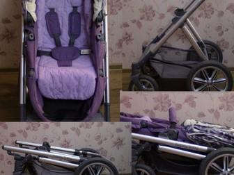 Новое фотографию Детские коляски Коляска-трансформер 2в1 Happy Baby Ultra Purple 38660266 в Твери