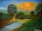 Просмотреть изображение Антиквариат, предметы искусства Продаю авторские картины маслом недорого 40010481 в Уфе